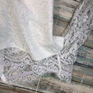 2b3fd19b0d6 Pants - Long Sleeve Lace Panel White Bardot Romper
